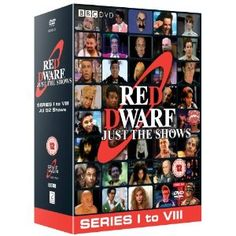 Red Dwarf: Just The Shows, Series I-VIII on DVD (Region 2)