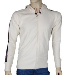 ENERGIE  Mens Cotton Jumper Hoodie with Zip Front Colour Cream Size X L Mens zip front hoodie jumper with stripe down sleeves. Chest circum 40 Length 28 Arm Length 31 eco wash (Barcode EAN = 5055678118118). http://www.comparestoreprices.co.uk/december-2016-5/energie-mens-cotton-jumper-hoodie-with-zip-front-colour-cream-size-x-l.asp