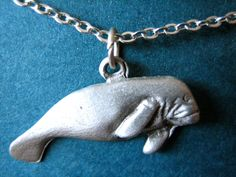 manatee necklace. gimme