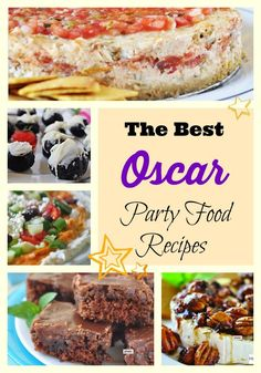 Oscar Party Food Recipes for Your Winning Menu