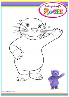 everythings rosie coloring book pages - photo#17