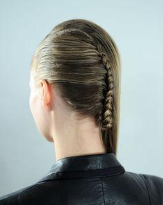 Woven   Alexandre Herchcovitch #hairstyles