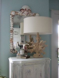 Sea Shell Mirror