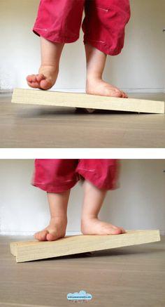 Quandofuoripiove: giochi fai-da-te: la tavoletta dell'equilibrista