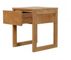 1 Drawer Modern Side Bed | Teak Furniture | Teak Garden Furniture from Jepara Indonesia