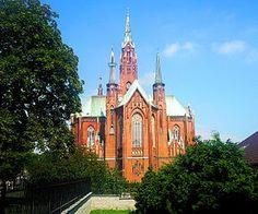 Kościoły w Polsce: BAZYLIKA N.M.P. ANIELSKIEJ W DĄBROWIE GÓRNICZEJ