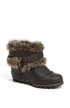 c9a243de6335 Free shipping and returns on SOREL  Joan of Arctic  Waterproof Wedge Bootie  at Nordstrom