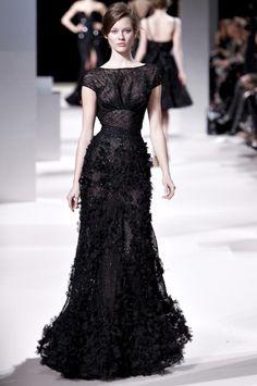 Perfect Long Black Dress