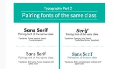 On the Creative Market Blog - 10 Infographics On How to Mix Fonts Like a Pro
