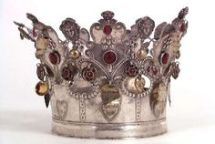 A bridal crown from Norway. http://www.norskfolkemuseum.no/
