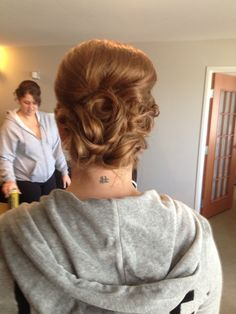 Updo that I did! Like my Facebook page Ketra Hanson-hair stylist
