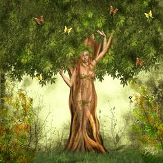 Illustration about Abstract illustration of a woman in a tree. Illustration of landscaper, butterfly, roots - 17934258 Tree Shower Curtains, Tree Of Life Jewelry, Celtic Tree Of Life, Tree Woman, Nature Tree, Illustrations, Stock Foto, Mother Earth, Trees To Plant