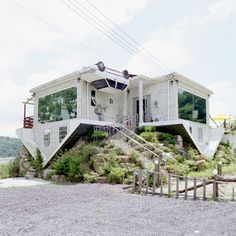 This exists. And it is genious!! Architecture does not have many boarders...