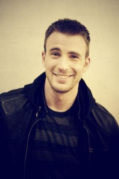 Chris Evans so excited for Captain America Winter Soldier ;)