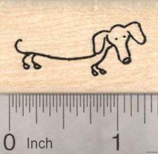 dachshund stick figure