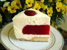 Takie tam moje pomysły Sweet Tooth, Cheesecake, Food, Cheesecakes, Essen, Meals, Yemek, Cherry Cheesecake Shooters, Eten