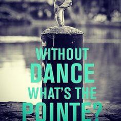 Pointe dancer