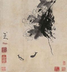 Bada Shanren (born Zhu Da ca. 1626—1705) was a Han Chinese painter of ink wash painting and a calligrapher.