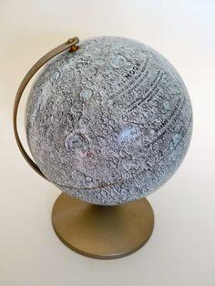 Vintage Moon Globe by Replogle