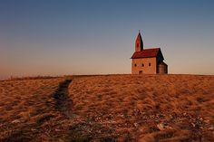 Lonely church by Ren Kuljovska Roman Church, Camera Art, Female Photographers, More Photos, My Images, New Art, Lonely, Monument Valley, Fine Art America