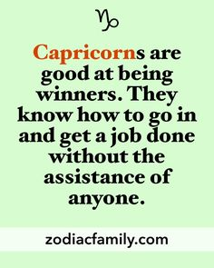 Capricorn Life | Capricorn Nation