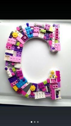 Lego friends letter