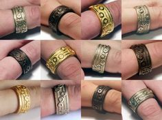 Amazing Zelda Ocarina Song Rings on Etsy! | Knights of Hyrule