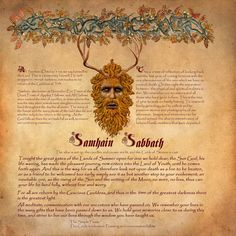 Samhain  - beautiful page... Be sure to check out Brightstone at Deviant Art - incredibly inspiring Book of Shadows artwork!