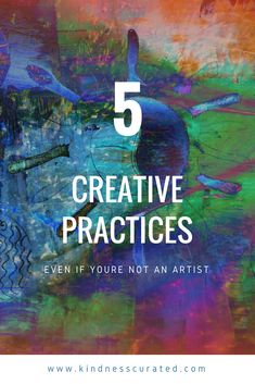 5 Creative Activities You can Do Even if You Aren't An Artist! That add more creativity to your life! Things like viewing museums and rubbings and blind contouring! #art #creativity Start a creative practice today. One that you love, feels natural and Ian easy to maintain. Your creative practice is your private journey, so feel free to explore! And remember what Vincent Van Gogh said, loving people is the most artistic thing