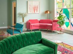 California colour! Images/ http://www.grazia.it/casa/design/los-angeles-stile-home-decor
