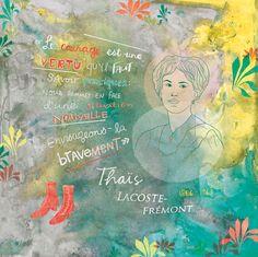 20$ Illustration féministe  Féministe québécoise  French feminist Canadian feminist Quebec feminist Affiche par Annickg