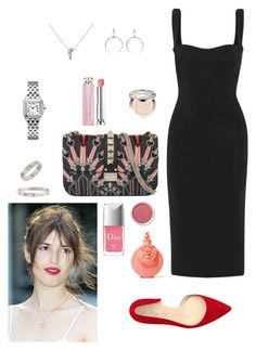 """""""French connection"""" by giovanna-nembrini on Polyvore featuring Dion Lee, Valentino, Shoes of Prey, Luv Aj, Bare Escentuals, Cartier and Christian Dior"""