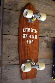 Antisocial skateboard shop