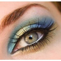 colorful eye #mirabellabeauty #jade #eyeshadow