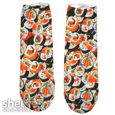 Sushi Short Foot Gloves