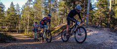 Rokua MTB Team. Mountain biking in Finland