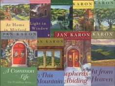 "I loved the Jan Karon ""Mitford"" books you will wish you could join Father Tim's congregation~"