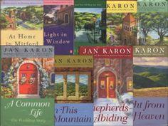 "I loved the Jan Karon ""Mitford"" books"