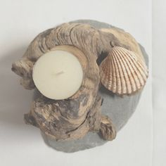 Small natural tealight holder - enquire for more details
