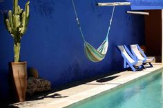 Riad Baoussala : Essaouira - Guest House - The swimming pool