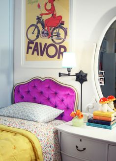 squeee...that GORGEOUS headboard !  i LOVE the headboard !