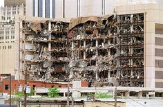 April 19, 1995: Timothy McVeigh sets off a massive fertilizer bomb in front of the Alfred P. Murrah Federal Building in Oklahoma City, OK. 168 people were killed, including 19 children who were at the day-care inside the building at the time, making it the largest act of domestic terrorism in US history.