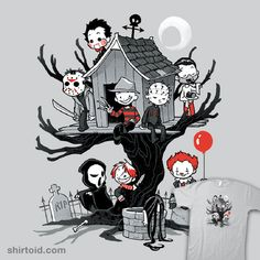 Horror Clubhouse | Shirtoid