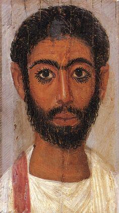 (c. 100-200 CE) Portrait of a Man