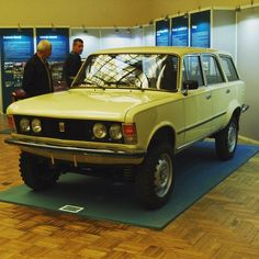 Europe Car, Fiat 126, Car Polish, Pre Production, Expedition Vehicle, Four Wheel Drive, Old Cars, Concept Cars, Cars And Motorcycles