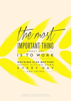 Positive Quotes  The Most Important Thing   Striking Truths
