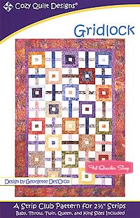 Gridlock Quilt Pattern Cozy Quilt Designs