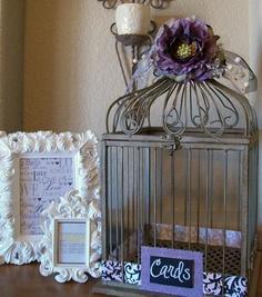 PURPLE WEDDINGSVintage Inspired Decorative by shabbymcfabby, $78.00