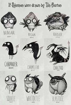 Tim Burton and Pokemon