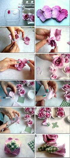 Paper rose DIY / Бумажная роза